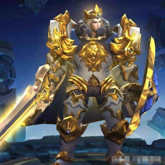 王者荣耀 亚瑟重做技能介绍及出装解析 全身金甲新造型闪瞎玩家图片