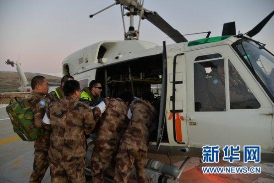 中國醫療隊為盧旺達鄉村居民義診