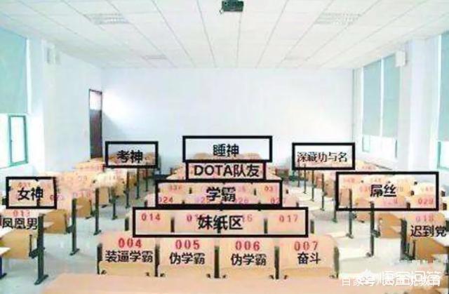 看高中生排座位?网传的座位分布图不可漯河高中高考2015喜报实验年图片