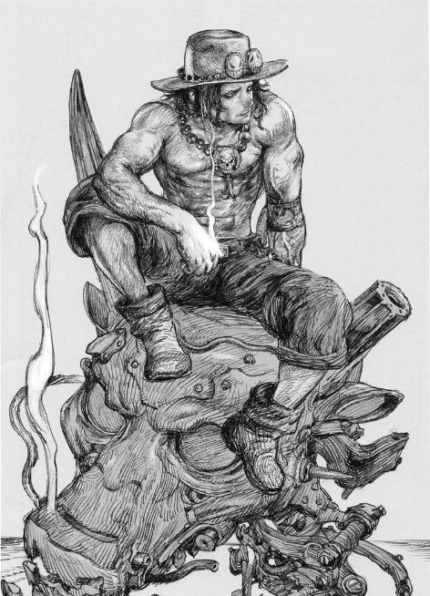 《海贼王》事情搞假面系列:艾斯复活IF,图已传骑士漫画暴官方走图片