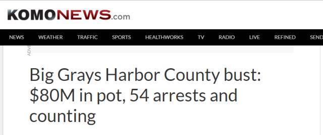 54名中國人在美種大麻被抓 涉案金額8000多萬美元
