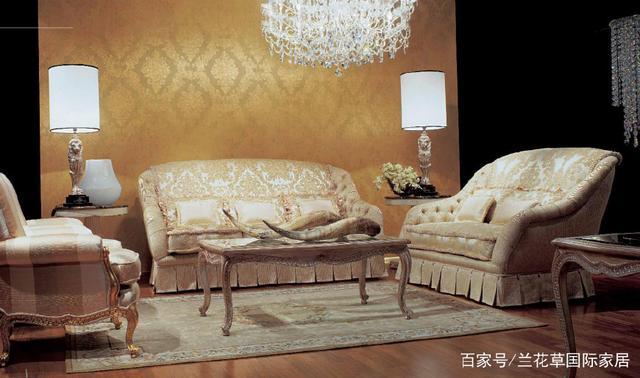 家具世家鉴赏:无与伦比的意大利古典奢华之美领衔产品星香河汇家具图片