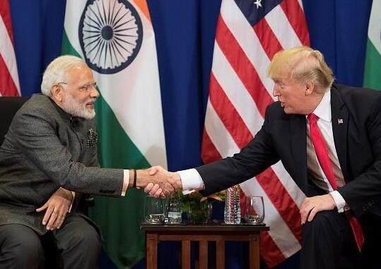 特朗普又涉種族歧視?美媒曝其模仿莫迪印度腔