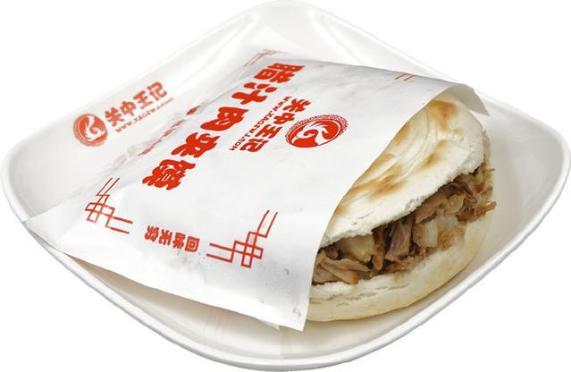西安小吃肉夹馍,实际上是馍夹肉?开瓶器/书签图片