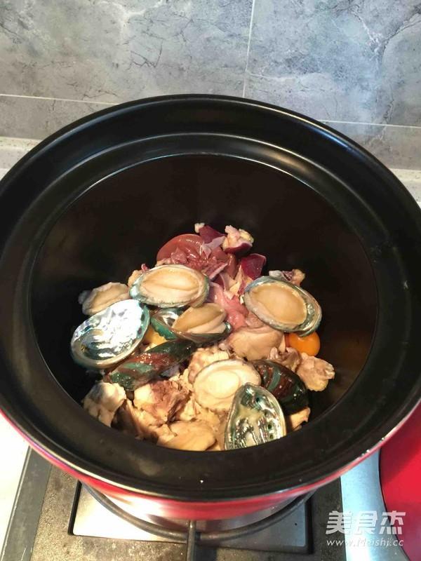#土鸡鲍鱼的食谱#菜谱炖白领每日v土鸡标准最爱糖尿病图片