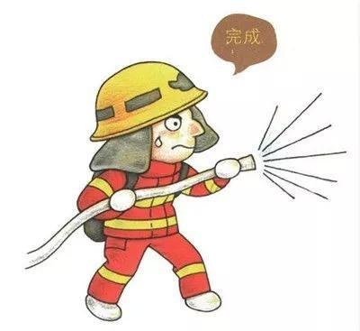 消防员画法的步骤_消防员的画法