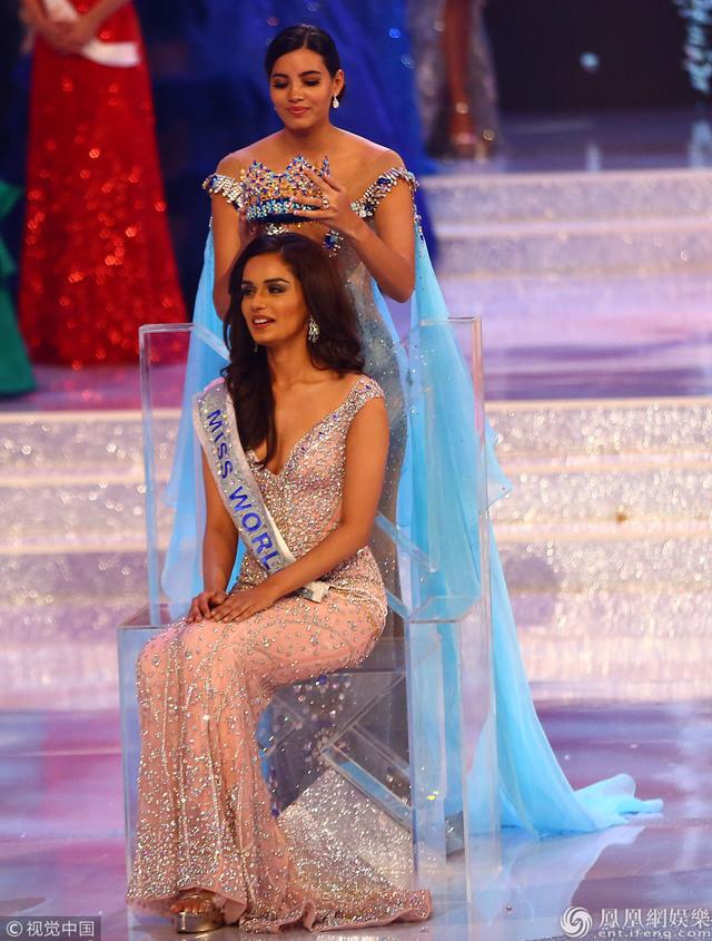 今年世界小姐冠軍是個印度人 中國無緣三甲