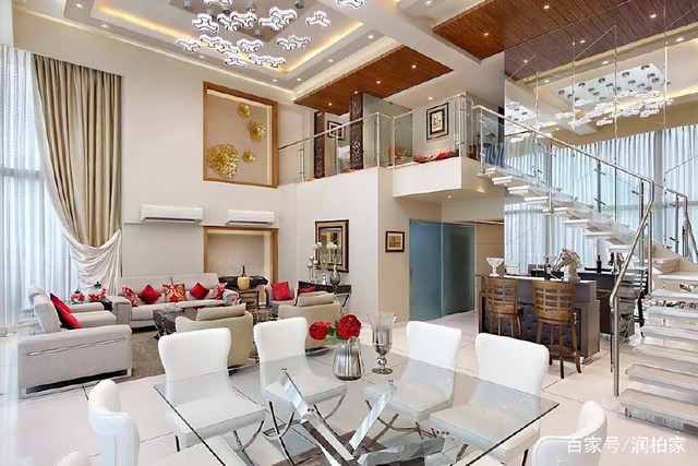 豪华别墅软装v造价造价,打开你的案例思路多少平方木屋是钱一别墅的图片