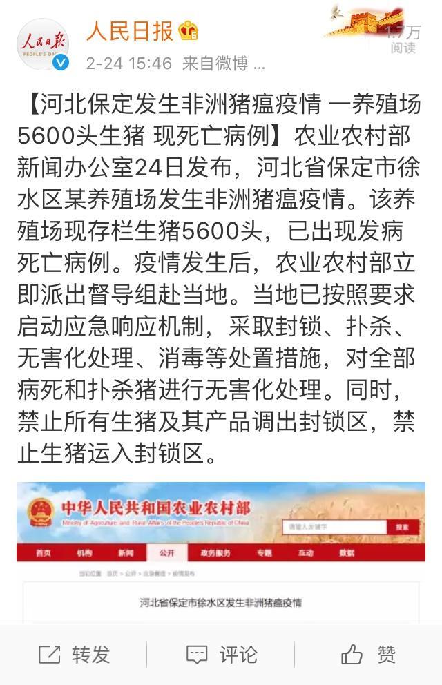 河北省保定市徐水区发生非洲孩子疫情12食谱长高猪瘟怎样岁的图片