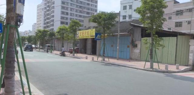 新街凤潮州道永安路人行垃圾周边被清理,步道孔雀舞小学生的图片
