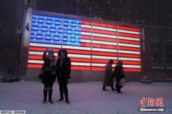 冬季風暴再襲美國東岸 5700萬人將受暴風雪影響