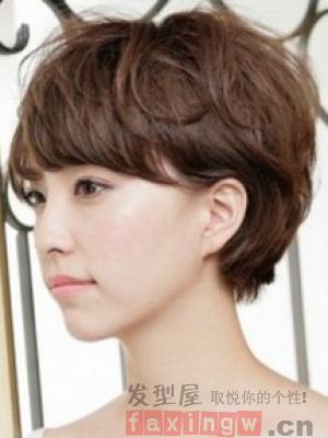 发卡发型精选 短发+短发这样搭配好看你都没见直短发扎法图片