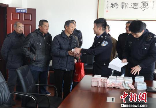 吉林白山警方跨省追蹤為農民工討薪32萬元