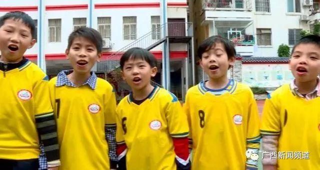 中国杯球童牵手选拔进小学,南宁西乡塘校园、教育频道小学生图片