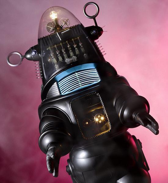 電影道具機器人537萬美元拍出 創下此類拍品紀錄