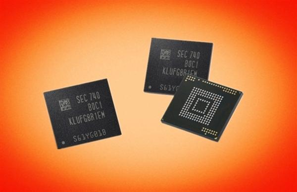 手機存儲卡再見!三星宣布量產512GB UFS閃存:860MB/s