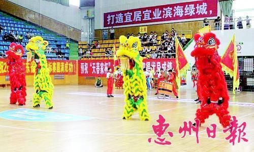 我市一小学获省龙狮赛二等奖香港的小学排名图片