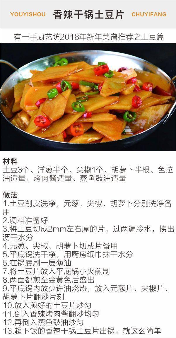 2018年春节必备请客吃饭过年的菜谱--年糕篇孕妇能吃炸土豆吗图片
