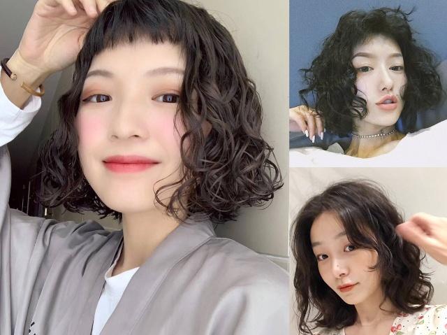 最近又流行了一款短发,它叫莱斯卷,发量发型图片女女少女图片