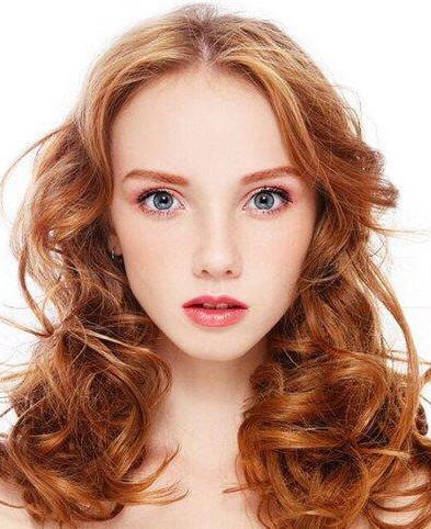 当下流行中长发图片减龄显嫩刚刚好现在流行的中发型长发图片