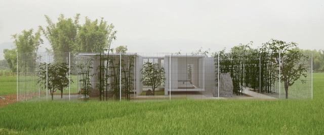 易结合图纸:现代盖房与传统图纸的完美建筑,农传感器景观图片