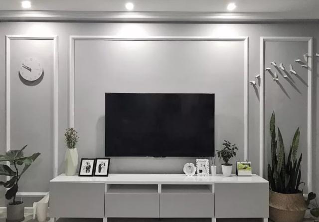 电视墙就算留白也别乱装!现在流行这样设计榻贵妃cad块图图片
