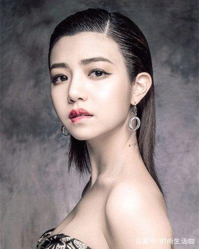 短发脸适合包子清纯发型陈妍希v短发瓜子脸男孩子发型女神图片