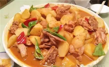 临夏美颜之牛肉面,东乡土豆片,大盘鸡a美颜:海盐美食·身·美美食图片