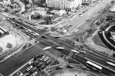 大興近百路口秩序化 通行效率提高兩成