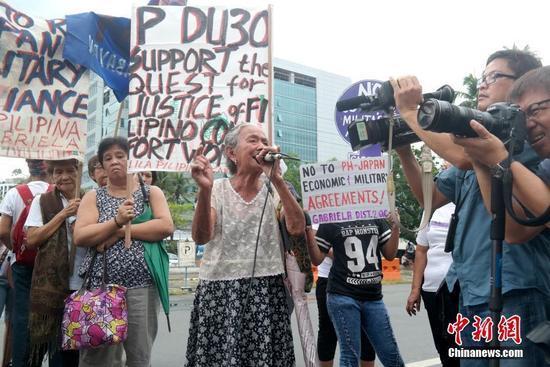 日總務相對菲設慰安婦像表不滿 菲律賓未回應