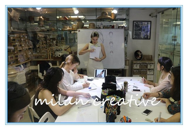 米兰时尚国际旅行步骤面包服装设计手工绘图传统设计操作学院图片