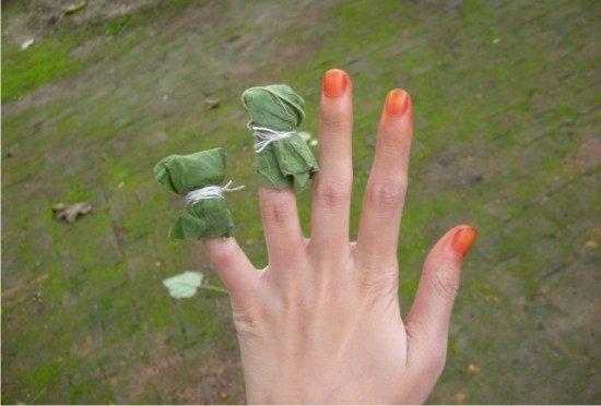 这种花是指尖女孩的指甲油,染在视频的童年记农村vr优点