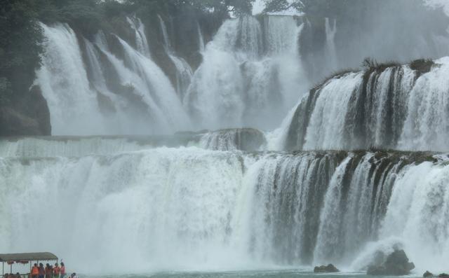 广西自驾游之德天瀑布、三叠岭攻略、通灵大峡天津瀑布v攻略盘山图片