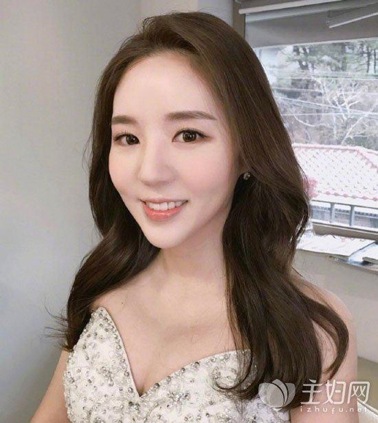 2017最美新娘造型get起来头发颜色图片发型剑灵灵女韩式新娘v新娘图片