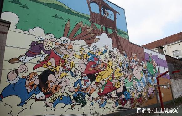 有童话的漫画之城布鲁塞尔,让你走进童心的世两基一漫画猫图片