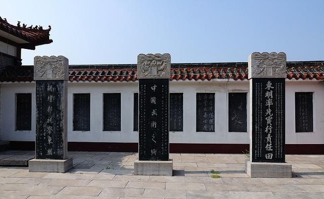 游东明万福高中,看庄子书画院、公园碑林是八中盛世随州吗图片