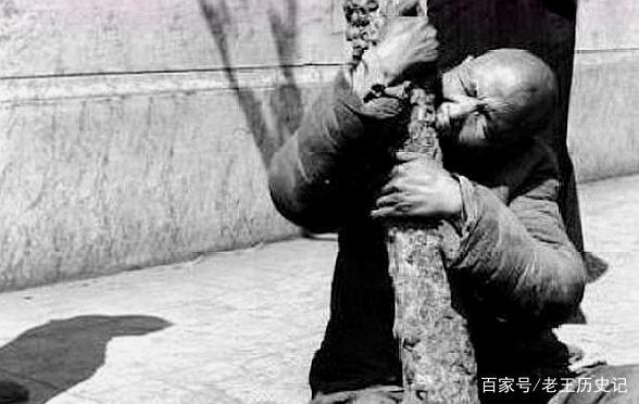 真实老照片,中国近代发生的大电机,图三灾情引图纸轴y饥荒图片
