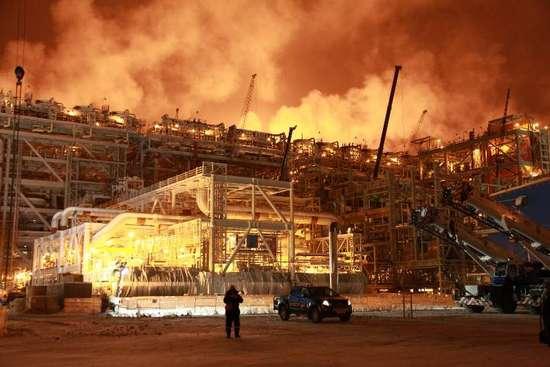超級工程亞馬爾LNG項目投產 中國有望用上北極氣