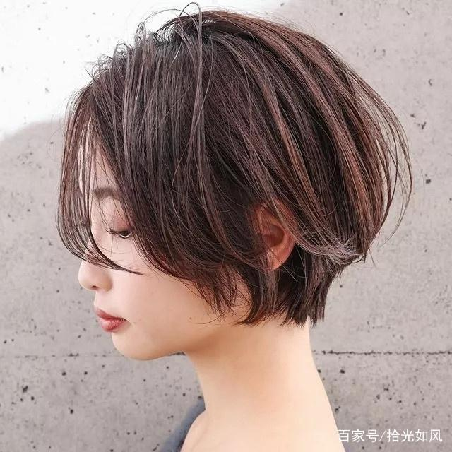 新年没有发型28款,款款都是短发建议短发(长发中经典流行刘海的简单扎法100种图片