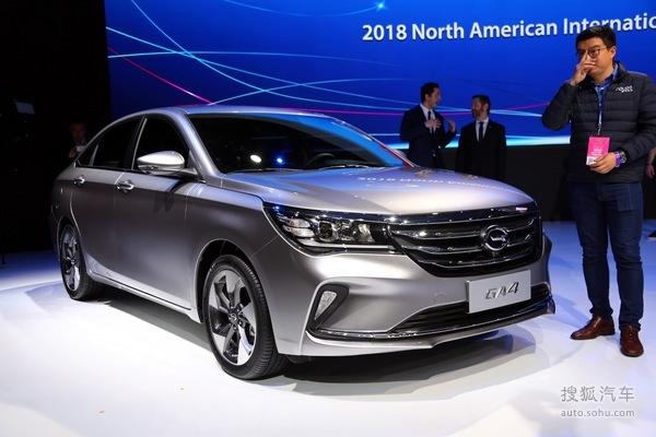2018北美車展:廣汽傳祺GA4正式發布