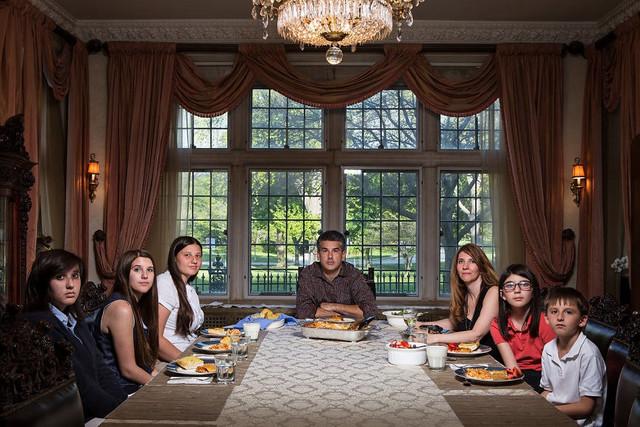 揭秘美国人的晚餐时间:和中国人吃饭有很大不图片