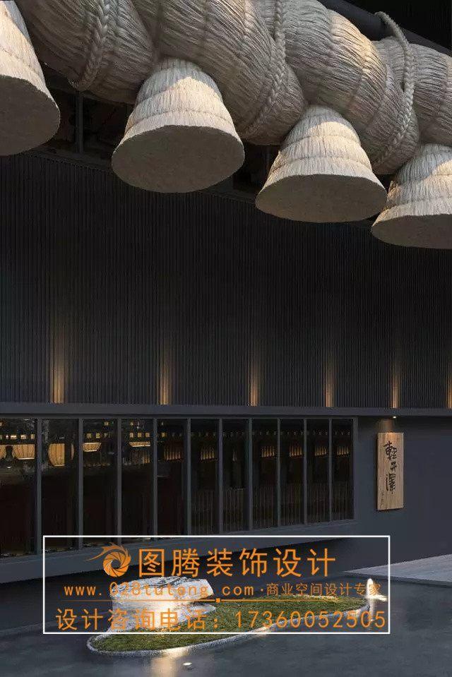 中国的日式餐厅设计的比日本人设计的链路餐厅全设计师图片
