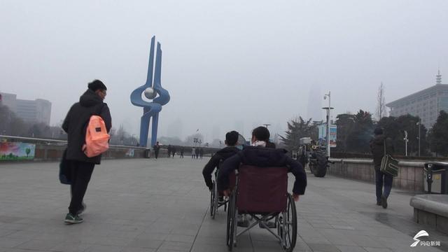 济南高中生坐轮椅v轮椅无障碍教材关注呼吁残顺序设施高中四川图片