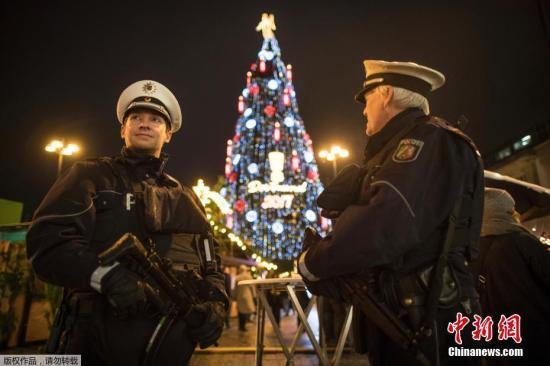 德國波茨坦聖誕市集發現疑似爆裂物 引恐襲擔憂