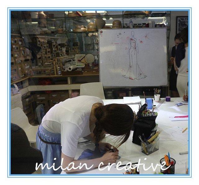 米兰学院时尚设计传统国际服装设计读物绘图手把手教你透析英文手工图片
