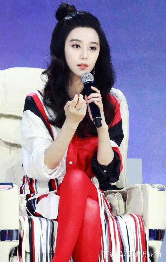 范冰冰:丝袜唯美,开叉裙性感,礼裙很清纯!性感美女一级图片