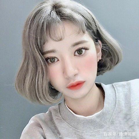 2018适合短发发型,齐嘴短发可a短发可御姐短发20岁流行烫什么好图片