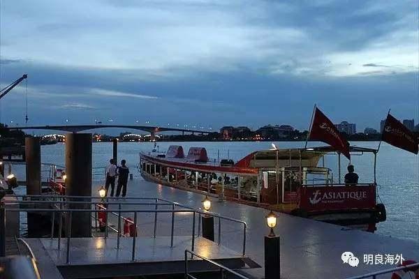 曼谷最红美食--西安码头图片夜市泰国的夜市河岸图片