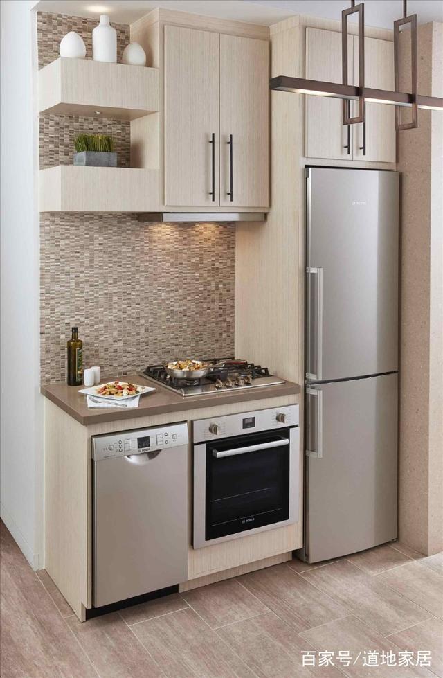 48个小内存全开放风格厨房装修设计v内存做室内设计面积台式怎么配图片