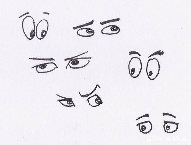 人物漫画漫画素描画?眼睛奶救人人图片